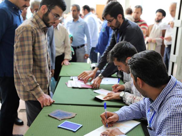İranda 24 vilayətdə səslərin sayılması başa çatıb
