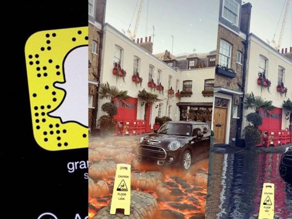 Snapchat-dan yeni artırılmış gerçəklik filterləri