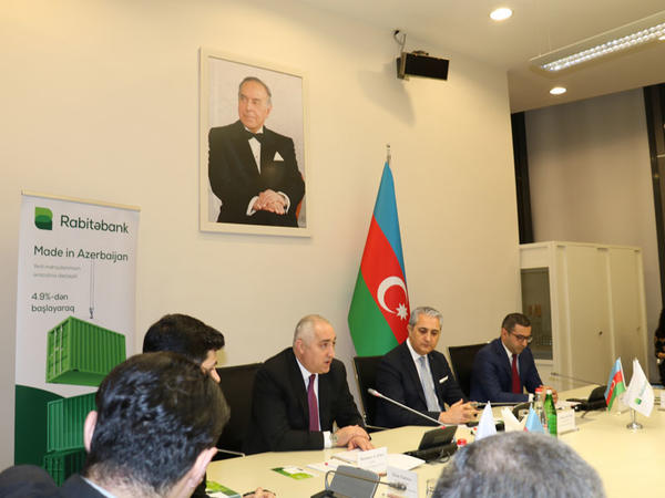"""Rabitəbankdan """"Made in Azerbaijan"""" brendinə dəstək!"""