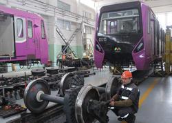 Bakı metrosuna 3 il ərzində 12 qatar gətiriləcək - FOTO