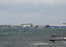 Türkiyədə sərnişin gəmisi saya oturdu