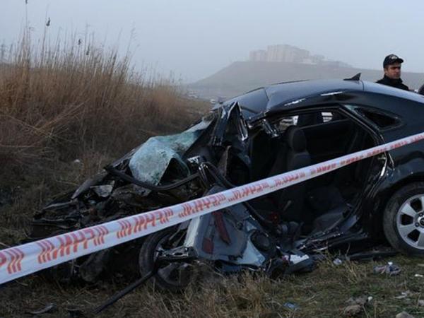Bakıda ağır yol qəzası: 3 nəfər öldü, 1 nəfər yaralandı