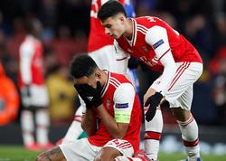 """&quot;Olimpiakos&quot; &quot;Arsenal&quot;ı son dəqiqə qolu ilə Avroliqadan kənarlaşdırdı - <span class=""""color_red"""">VİDEO - FOTO</span>"""