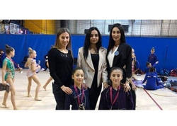 Bədii gimnastımız Macarıstandan bürünc medalla geri dönüb