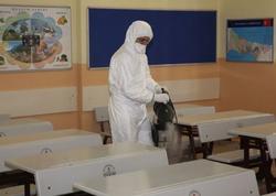 Ümumi təhsil müəssisələrində dezinfeksiya işləri və qabaqlayıcı tədbirlər həyata keçirilir