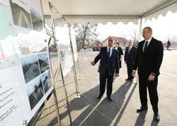 Prezident İlham Əliyev Ağstafa-Yenigün-Xətai-Qaçaq Kərəm-Poylu-Xılxına avtomobil yolunun açılışında iştirak edib - VİDEO - FOTO