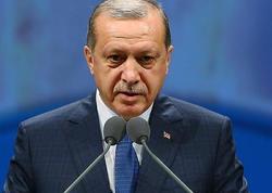 """Ərdoğan: """"Terrorçularla mübarizə aparan qəhrəman ordumuzla fəxr edirəm"""""""