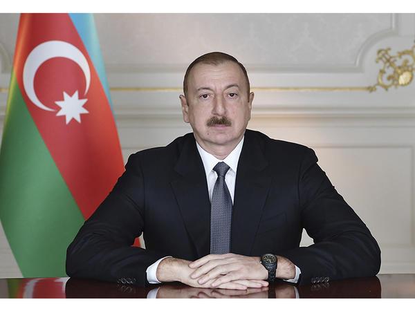 """""""CIFAL"""" qrupunun prezidenti Azərbaycan Prezidentini təbrik edib"""