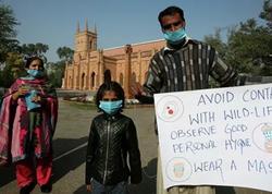 Pakistanda koronavirusa yoluxanların sayı min nəfəri keçib