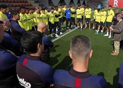 """""""Barselona""""nın bəzi futbolçuları maaşlarının azaldılmasına qarşı çıxdı"""