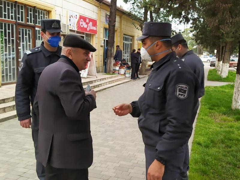 Astarada karantin rejimini pozanlara xəbərdarlıq edildi - FOTO