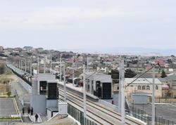 Abşeron dairəvi dəmir yolu marşrutu üzrə qatarların hərəkət cədvəlində dəyişiklik edilib