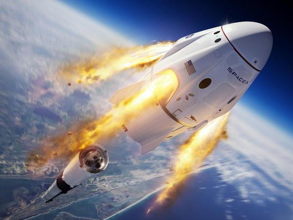 SpaceX-in Crew Dragon kosmik gəmisi test çərçivəsində yerə çırpılıb