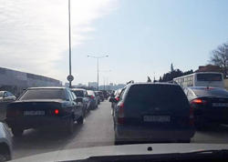 Bakı-Sumqayıt yolundakı tıxacla bağlı rəsmi açıqlama - FOTO