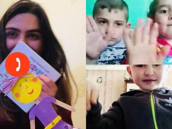 Azərbaycanın 33 rayon və şəhərində 6200-dan çox 3-4 yaşlı uşaq onlayn tədrisə cəlb edilib - FOTO