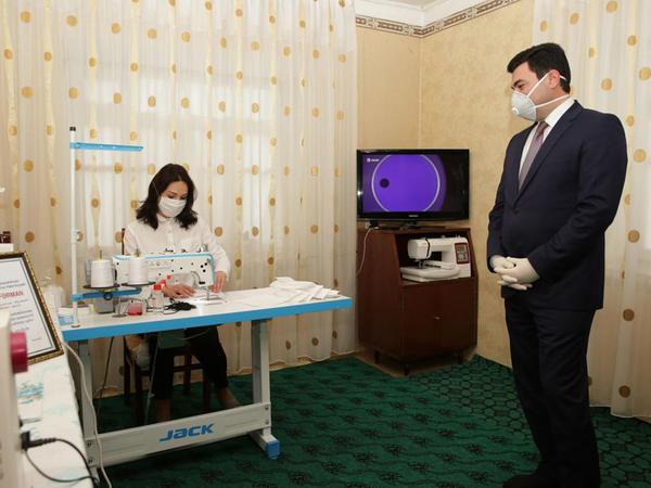 Xaçmaz rayonunda tibbi-profilaktik tədbirlər davam etdirilir - FOTO