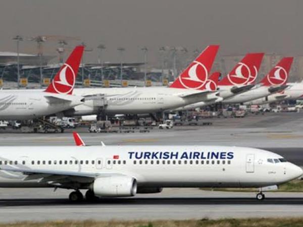 """""""Türk Hava Yolları"""" beynəlxalq uçuşları mayın 1-dək dayandırıb"""