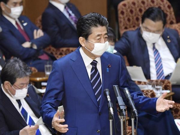 Yaponiyanın Baş Naziri hər bir ailəyə parçadan hazırlanmış tibbi maskaların göndərilməsini planlaşdırır