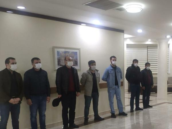 "Karantin rejimini pozan 3 nəfər həbs edilib - <span class=""color_red""> FOTO</span>"