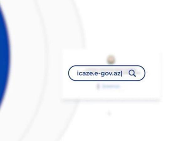 icaze.e-gov.az portalının istifadə qaydası ilə bağlı VİDEOtəlimat hazırlanıb