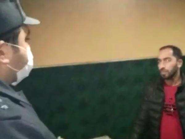 Qubada karantin rejimini pozan şəxs aşkarlanıb - VİDEO