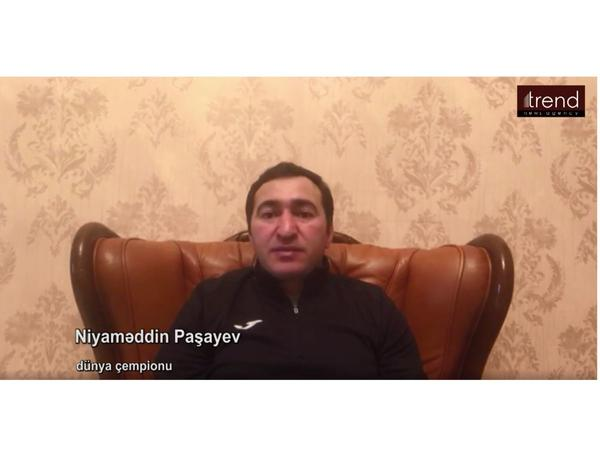 """Niyaməddin Paşayev: Biz hər birimiz həmrəy olmalı, qanunlara riayət etməliyik - <span class=""""color_red"""">VİDEO</span>"""