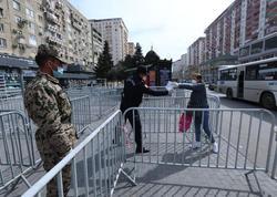 Bakıda xüsusi karantin rejimini pozan şəxslər aşkarlanır - FOTO