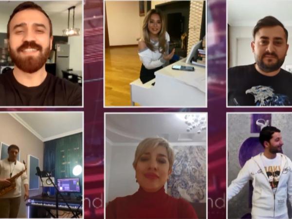 """Trend BİA-dan Azərbaycan ulduzları ilə birgə #Evdəqal kampaniyasına töhfə - <span class=""""color_red"""">Videolayihə</span>"""