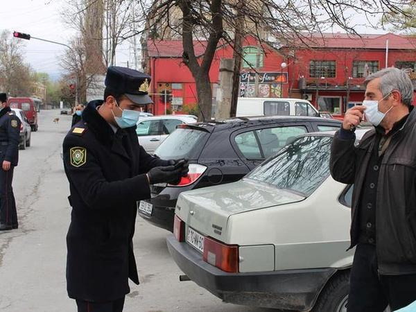 Şəkidə xüsusi karantin rejimini pozanlar barəsində tədbirlər görülüb - FOTO