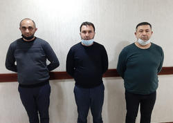 """Bakıda saxta icazə arayışı satan şəxs və """"müştəriləri"""" saxlanıldı - VİDEO - FOTO"""