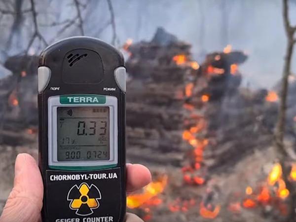 Çernobılda meşə yanğınları radiasiya səviyyəsini artırıb