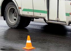 Bakıda piyadanı vurub qaçan avtobus sürücüsü saxlanılıb