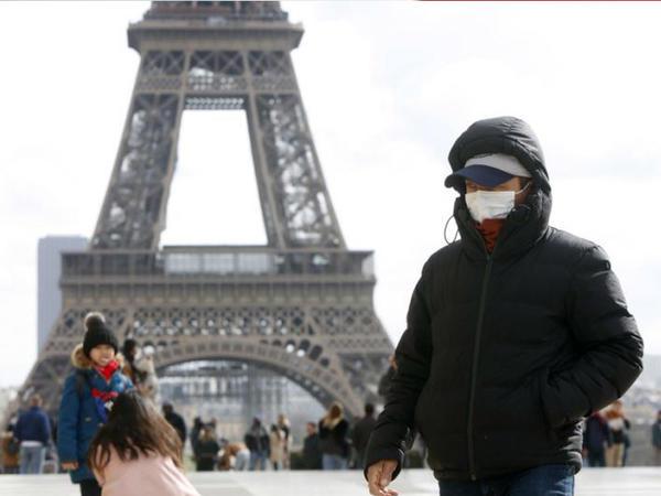 Fransada koronavirusdan ölənlərin sayı 10,3 mini ötüb
