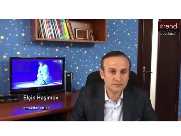"""Elçin Həşimov: """"Bu gün hər kəs həmrəy olub, xüsusi karantin rejimi qaydalarına riayət etməlidir"""" - VİDEO"""