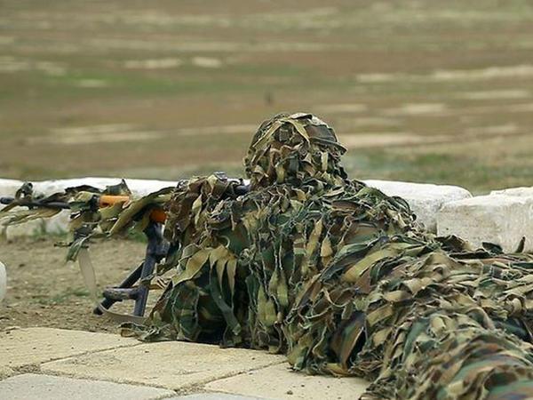 Azərbaycan Ordusunda snayperlərin hazırlığı yoxlanılır - VİDEO - FOTO