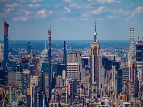 Karantin elan ediləndən sonra Nyu-Yorkun havası xeyli yaxşılaşıb