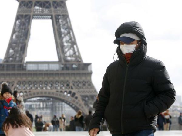 Fransada koronavirusdan ölənlərin sayı 12 mini ötüb