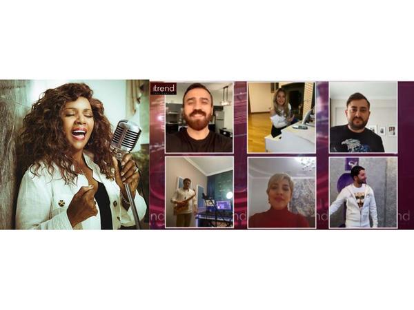 Məşhur amerikalı müğənni Qloria Qaynor Trend BİA-nın #Evdəqal videolayihəsini dəstəklədi - FOTO - VİDEO