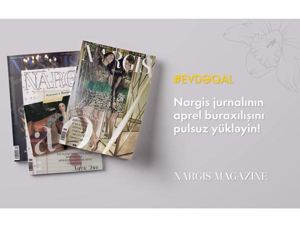 NARGIS nəşriyyat evi jurnalın rəqəmsal versiyasını oxuyuculara pulsuz təqdim edir