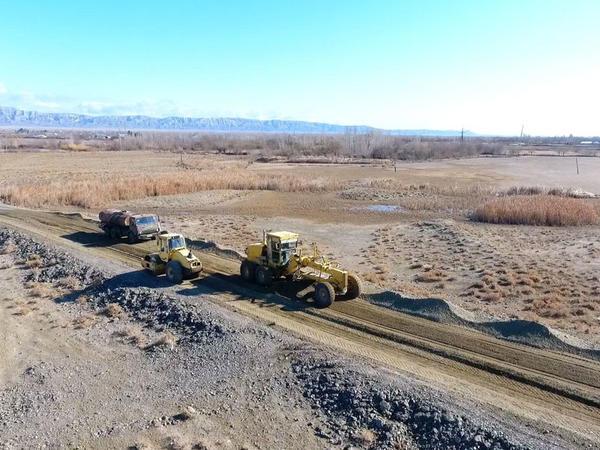 39.5 km-lik yol yenidən qurulur - FOTO