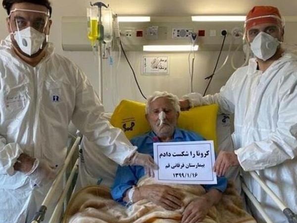 100 yaşlı kişi koronavirusa qalib gəldi