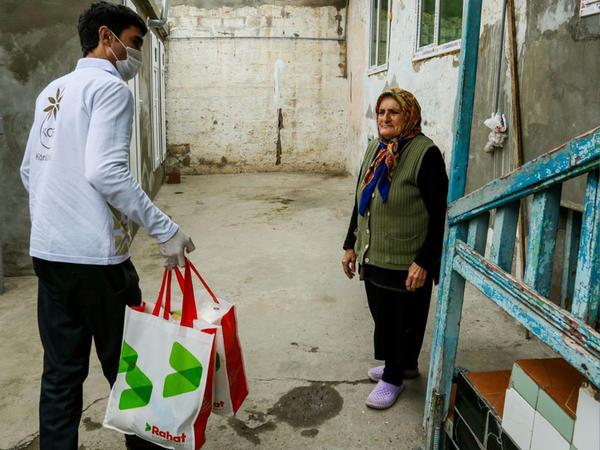 """KOBİA və """"Rahat"""" supermarketlər şəbəkəsindən birgə sosial təşəbbüs - FOTO"""