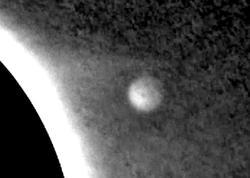 NASA Günəşin yaxınlığında naməlum obyekt qeydə ALIB - VİDEO