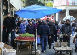 """Karantində """"Vasmoy"""" bazarı - FOTO"""