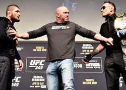 """Həbib - Ferqyuson döyüşü keçiriləcəkmi? - <span class=""""color_red"""">UFC prezidenti açıqlandı</span>"""