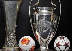 UEFA-nın avrokuboklar üçün yeni təqvim variantı