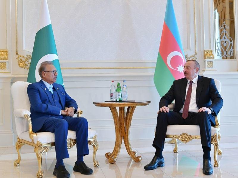 Azərbaycan və Pakistan prezidentləri arasında telefon danışığı olub