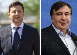 Zelenski Saakaşvili ilə bağlı gözləntilərindən danışdı
