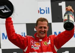 Mixael Şumaxer Formula 1 tarixinin ən nüfuzlu şəxsi seçilib