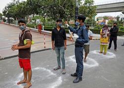 Hindistan koronavirusa yoluxanların sayına görə Çini ötüb